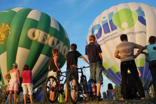 В Киевской области пройдет фестиваль воздушных шаров 2011 года